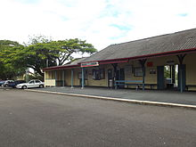 Shorncliffe Railway Station, Queensland, June 2012.JPG