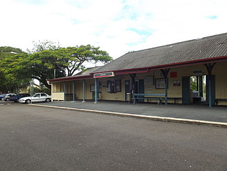 Shorncliffe railway line - Shorncliffe railway station, 2012