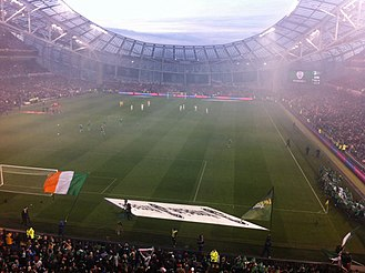 Aviva Stadium - Ireland vs. Poland Euro Qualifier 2016