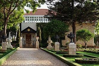 Bahá'u'lláh - Shrine of Bahá'u'lláh in Bahá'í Gardens, Acre