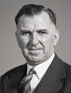 Sidney Holland 25th Prime Minister of New Zealand
