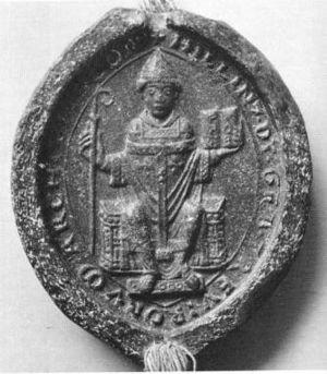 Hillin of Falmagne - Image: Siegel von Hillin von Fallemanien (1159)
