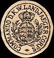 Siegelmarke Commando des Königlich Württembergischen Landjaeger Corps W0224207.jpg