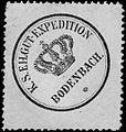 Siegelmarke Königlich Sächsische Eilgut - Expedition Bodenbach W0213020.jpg