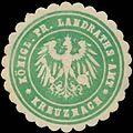 Siegelmarke K.Pr. Landraths-Amt Kreuznach W0390613.jpg