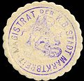 Siegelmarke Magistrat der Königlich Bayerischen Stadt Marktbreit W0229352.jpg