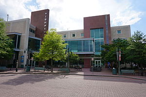 Shirlington, Arlington, Virginia - Image: Signature Theatre and Shirlington Library; Shirlington, Arlington, VA; 2014 05 17