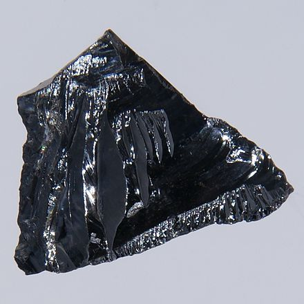 Silicon crystals are the most common semiconducting materials used in microelectronics and photovoltaics. Silicon.jpg