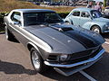 Silver colored Ford Mustang.JPG