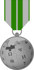 Silver medal wikiproject.png
