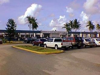 Yigo, Guam - Simon Sanchez High School