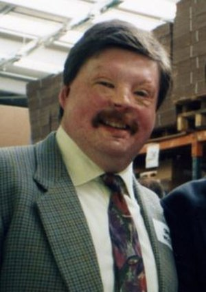 Simon Weston - Weston at a train station in 2008