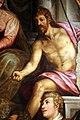 Simone da poggibonsi, madonna col bambino, santi e il beato pietro gargallini, 1581, 023 battista.jpg