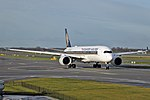 Singapore Airlines A350-941 (9V-SMF) taxiing at Amsterdam Airport Schiphol (2).jpg