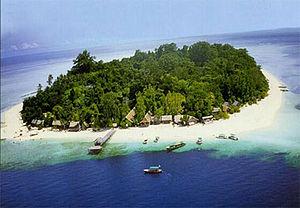 Sipadan - The island.