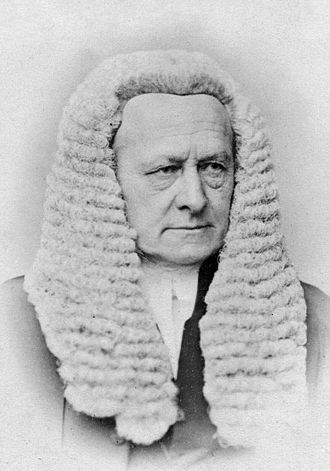 Exchequer of Pleas - Sir Fitzroy Kelly, the last Chief Baron of the Exchequer