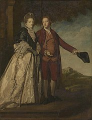 Sir Watkin Williams-Wynn and his Mother