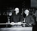 Sir Henry Hallett Dale and Sir Zachary Cope, 1962. Photograp Wellcome V0026257.jpg