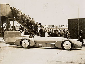 J Gurney Nutting & Co - Malcolm Campbell's 1931 Blue Bird