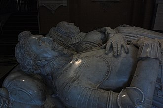 Nicholas Stone - Sir Moyle Finch's tomb, by Nicholas Stone the Elder, 1616, now in Victoria and Albert Museum