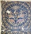 Siria, frammento di tessuto con scene di caccia, in seta, 790-810 dc ca (ascoli, museo diocesano) 02.jpg