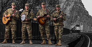 Six-String Soldiers pictured in 2016