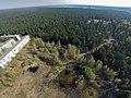 Skats uz Stropu meža pusi, redzams Stropu ezers tālumā- bird's eye view - panoramio.jpg