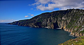 County Donegal - Slieve League cliffs, the second tallest in Ireland