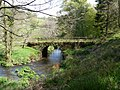 Smallcombe Bridge on the River Yeo as seen from upstream - geograph.org.uk - 1858036.jpg