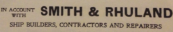 Smith and Rhuland Letterhead, 1925.