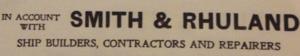 Smith & Rhuland - Smith and Rhuland Letterhead, 1925.