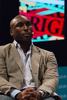 Sol Campbell English association football player and manager