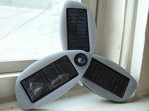 Solar cell phone charger - Solar cell phone charger
