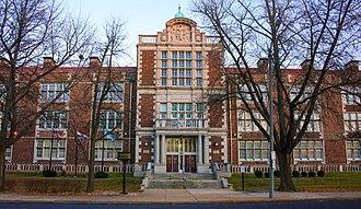 Soldan International Studies High School - Front of Soldan International Studies High School, December 2014