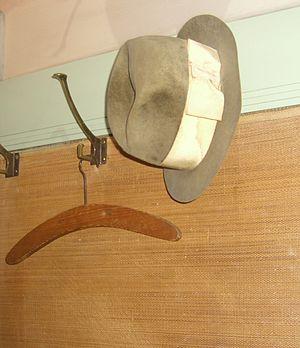 Español: Sombrero de Sigmund Freud. Museo de F...