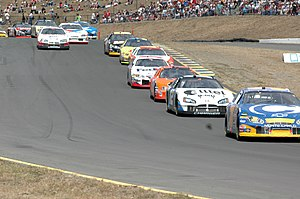 Sonoma Raceway - Sonoma Raceway Back Side of NASCAR track, 2005