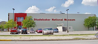 Studebaker National Museum - Old Studebaker National Museum on Main Street