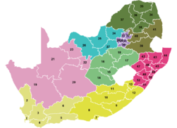 South Africa Districts April 2006.png