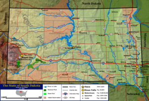 Geography Of South Dakota  Wikipedia