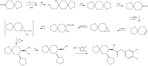 Spiradoline synthesis.png