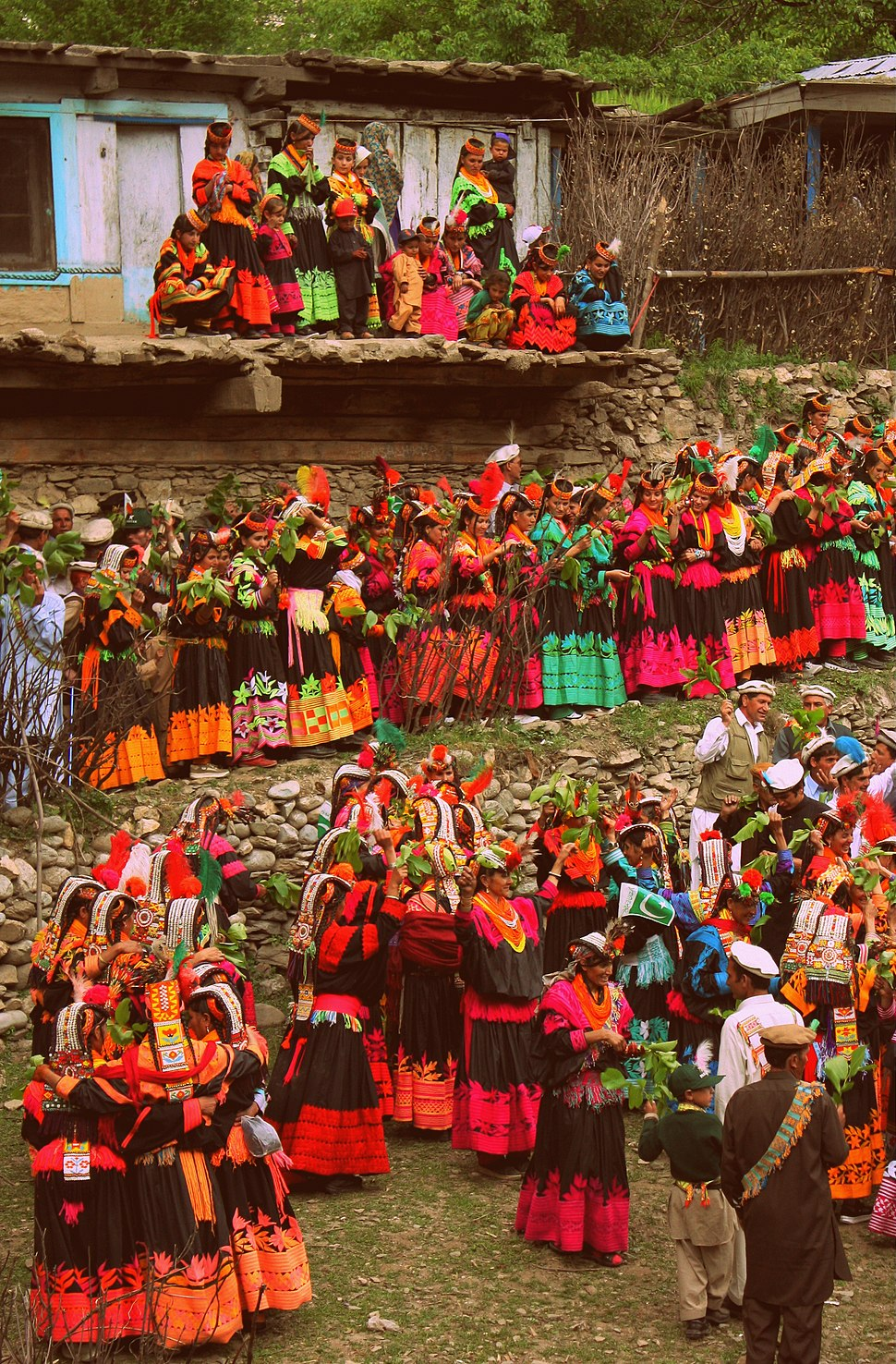 Spring festival kalash