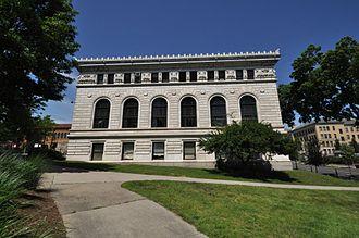 Quadrangle (Springfield, Massachusetts) - Springfield City Library
