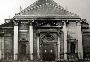 St. Thomas's Church (old), Dublin - Image: St thomas church dublin about 1890