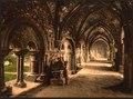 St. Bavon Abbey, the cloister, Ghent, Belgium-LCCN2001697939.tif