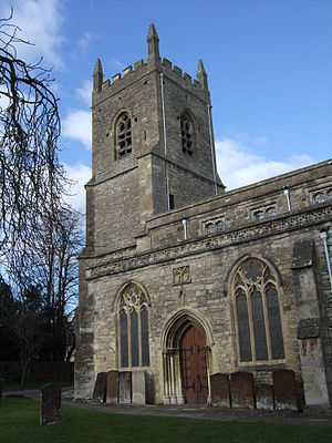Bicester - Tower of St Edburg's Parish Church