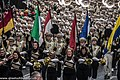 St. Patrick's Day Parade (2013) In Dublin - Purdue University All-American Marching Band, Indiana, USA (8565440275).jpg