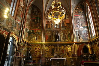 Wenceslaus I, Duke of Bohemia - St. Wenceslas Chapel in St. Vitus Cathedral