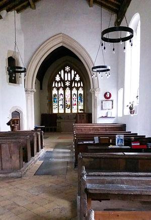 Wallington, Hertfordshire - Image: St Mary Church Wallington Hertz