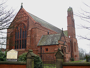 Grade II* listed buildings in Greater Manchester - Image: St James' Church, Daisy Hill