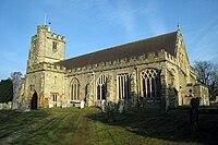 St Laurence's Church, The Moor, Hawkhurst, Kent - geograph.org.uk - 1208934.jpg